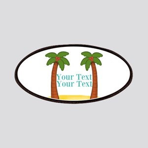 Personalizable Palm Trees Patch