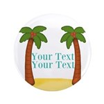 Personalizable Palm Trees Button