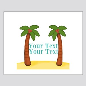 Personalizable Palm Trees Posters