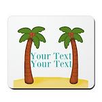 Personalizable Palm Trees Mousepad