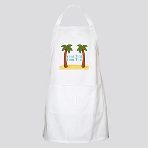 Personalizable Palm Trees Apron