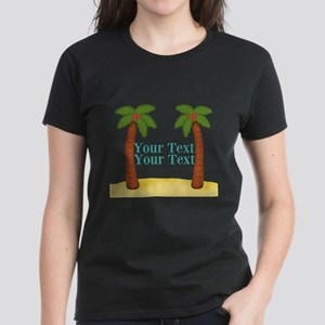 Personalizable Palm Trees T-Shirt