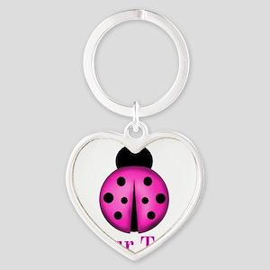 Purple Ladybug Keychains
