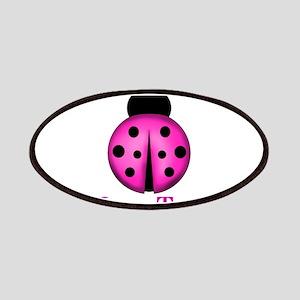 Purple Ladybug Patch