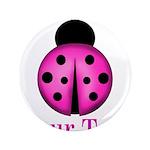 Purple Ladybug Button