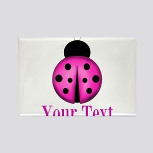 Purple Ladybug Magnets