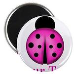 Purple Ladybug Magnets
