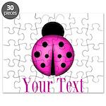 Purple Ladybug Puzzle