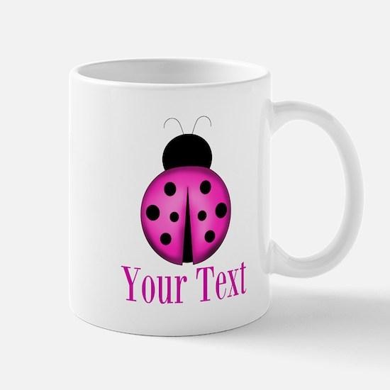 Purple Ladybug Mugs