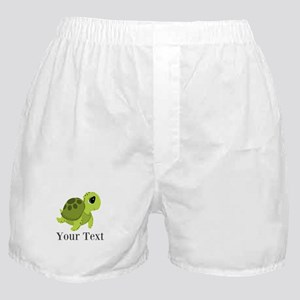 Personalizable Sea Turtle Boxer Shorts