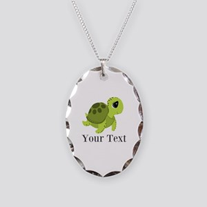 Personalizable Sea Turtle Necklace