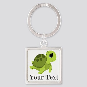 Personalizable Sea Turtle Keychains