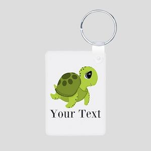 Personalizable Sea Turtle Keychains