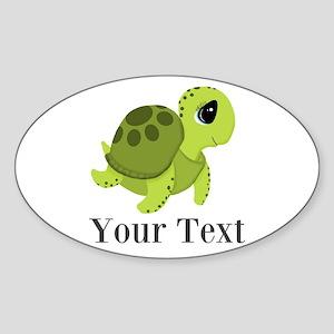 Personalizable Sea Turtle Sticker