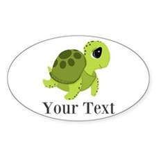 Personalizable Sea Turtle Sticker