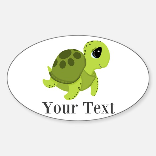 Personalizable Sea Turtle Decal