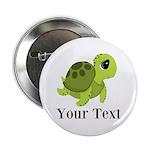 Personalizable Sea Turtle 2.25