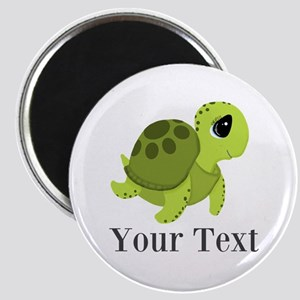 Personalizable Sea Turtle Magnets