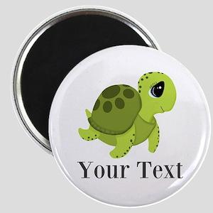 Personalizable Sea Turtle Magnets