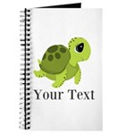 Personalizable Sea Turtle Journal