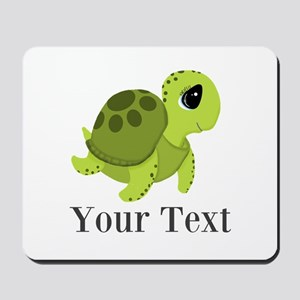 Personalizable Sea Turtle Mousepad