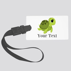 Personalizable Sea Turtle Luggage Tag