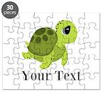 Personalizable Sea Turtle Puzzle
