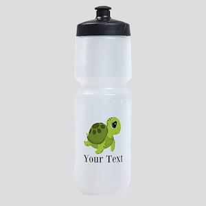 Personalizable Sea Turtle Sports Bottle