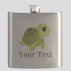 Personalizable Sea Turtle Flask