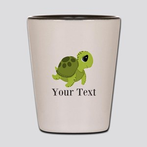 Personalizable Sea Turtle Shot Glass