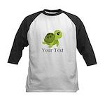 Personalizable Sea Turtle Baseball Jersey
