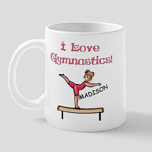 I Love Gymnastics (Madison) Mug