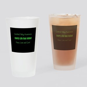 Awareness Drinking Glass