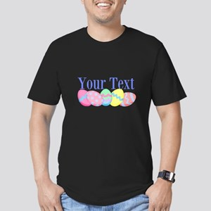 Personalizable Easter Eggs Blue T-Shirt