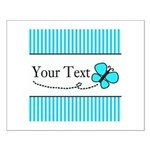 Personalizable Teal Butterfly Posters