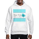 Personalizable Teal Butterfly Sweatshirt