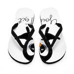 Personalizable Penguin Flip Flops