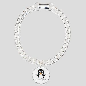 Personalizable Penguin Bracelet