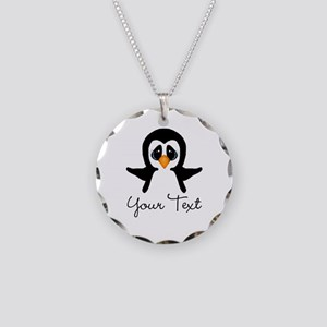Personalizable Penguin Necklace