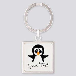 Personalizable Penguin Keychains