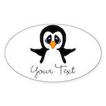 Personalizable Penguin Sticker