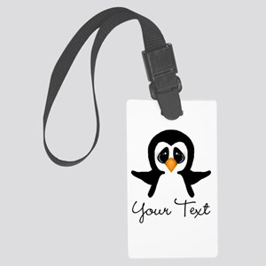 Personalizable Penguin Luggage Tag