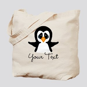 Personalizable Penguin Tote Bag