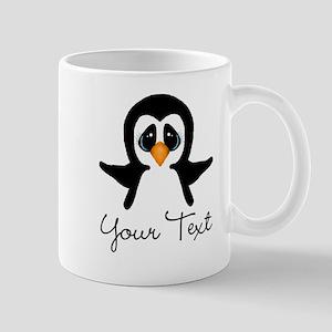 Personalizable Penguin Mugs