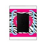Personalizable Pink Zebra Picture Frame