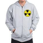 Danger Radioactive Zip Hoodie