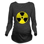 Danger Radioactive Long Sleeve Maternity T-Shirt
