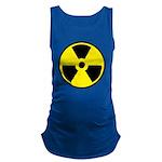 Danger Radioactive Maternity Tank Top