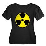 Danger R Women's Plus Size Scoop Neck Dark T-Shirt