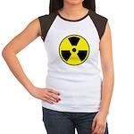 Danger Radioactive Junior's Cap Sleeve T-Shirt